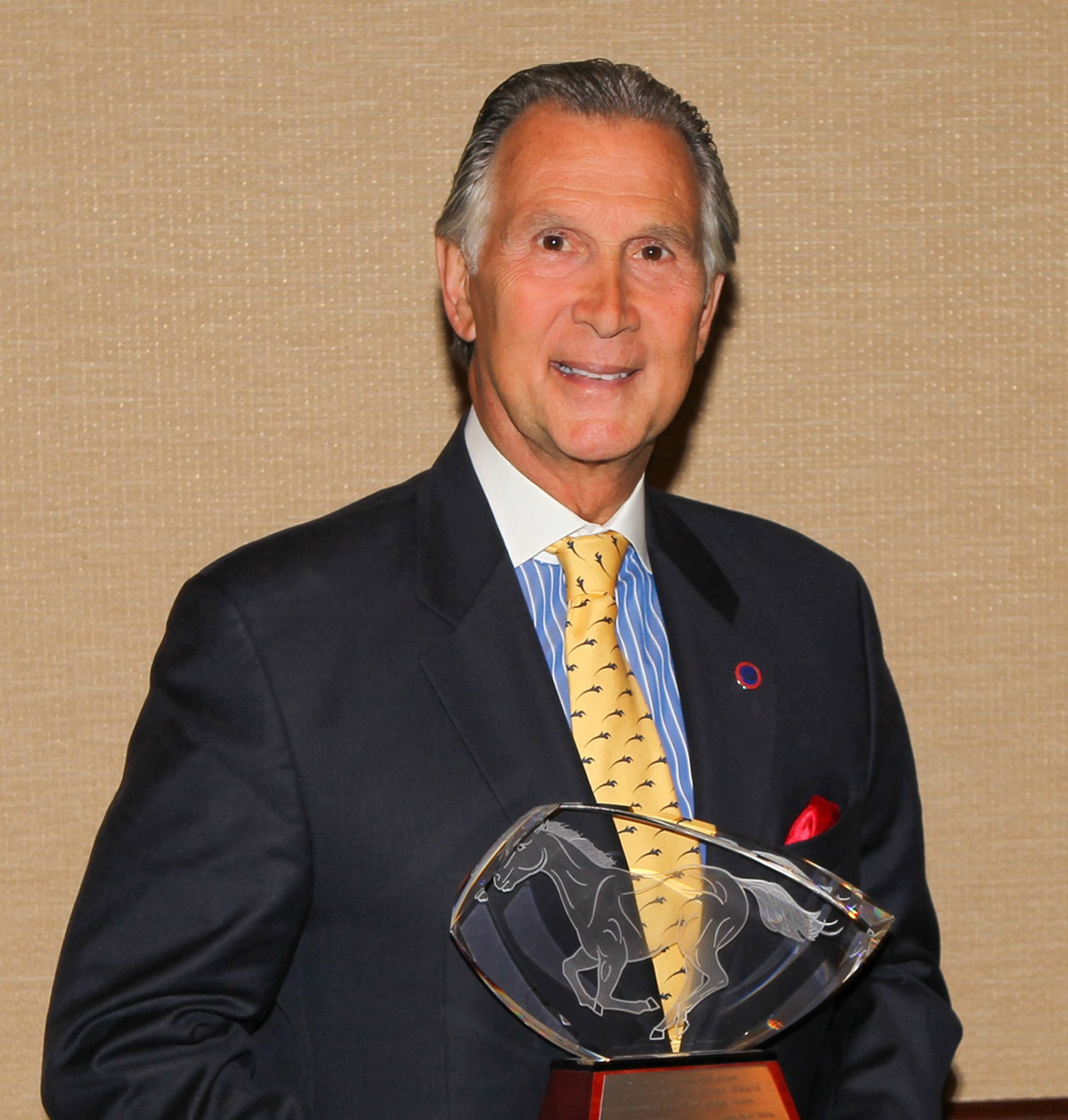 Executive Director of the Intercollegiate Horse Show Association Honored at the  Equine Industry Vision Award Tenth Anniversary