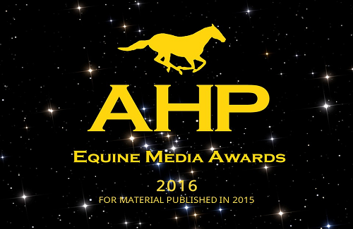 AHP Equine Media Awards Presents its Galaxy of Stars for 2016