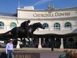 2015 AHP Student Award Winner visits Churchill Downs on her Kentucky trip hosted by Publisher Press