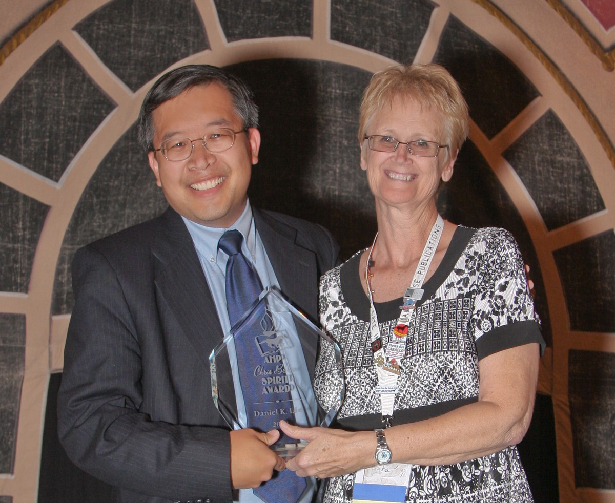 Daniel K. Lew Awarded 2008 AHP Chris Brune Spirit Award