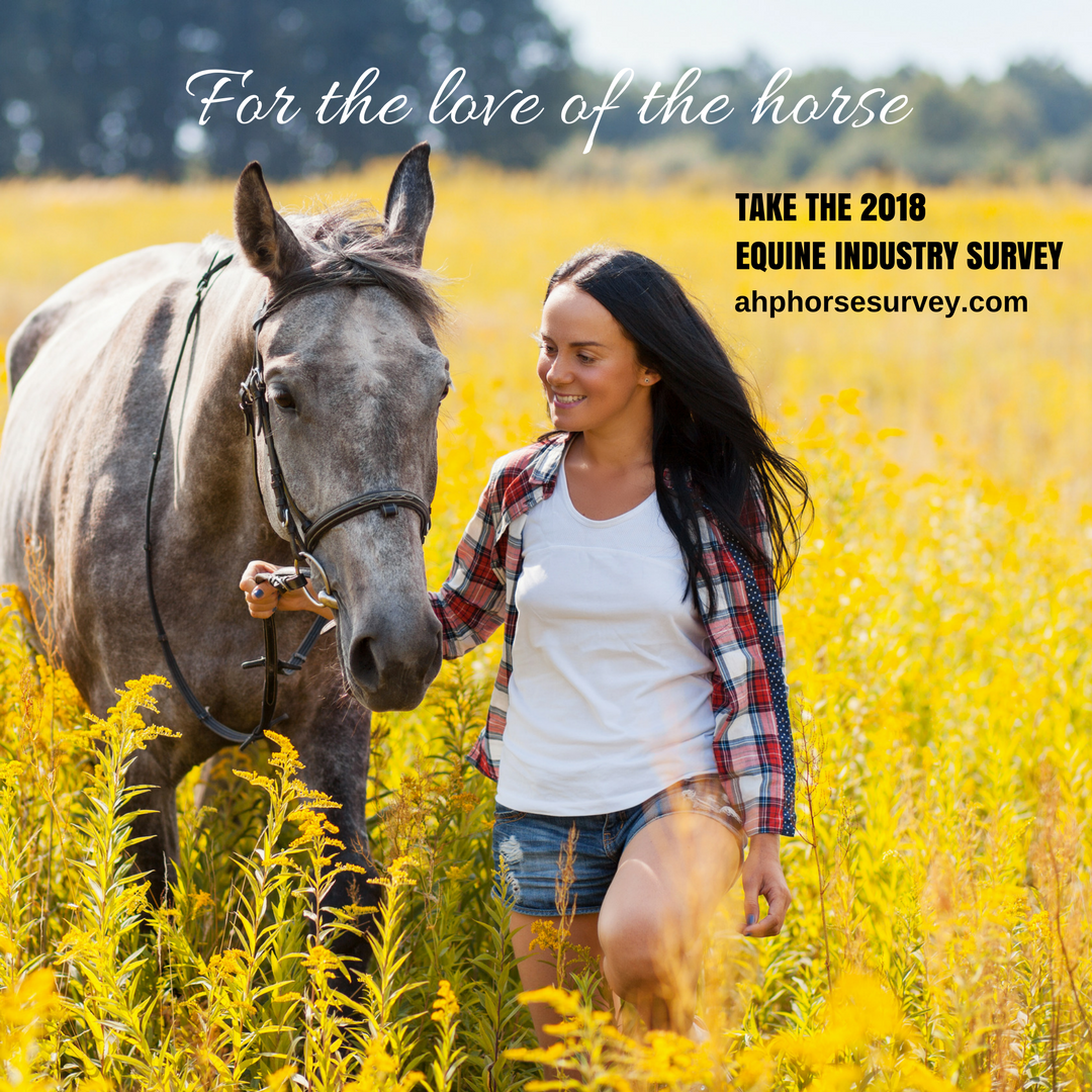 AHP Fourth Equine Industry Survey sponsored by Zoetis™