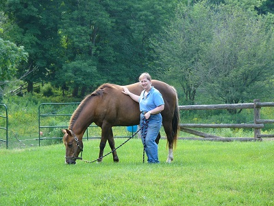 Gayle Ecker Receives Prestigious 2015 Equine Industry Vision Award