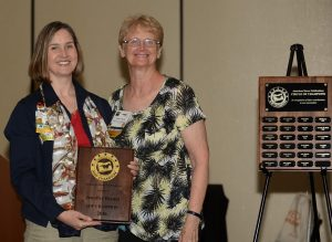 Jennifer Bryant received AHP Champion Award for 2016. Diana De Rosa Photo