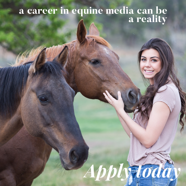 An Opportunity for Students to Reach their Dreams of a Career in Equine Media through the AHP Student Award Contest