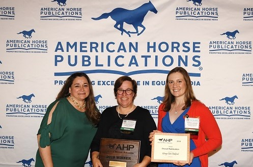 The Pursuit of Excellence Continues as AHP Honors the Equine Media Awards Winners