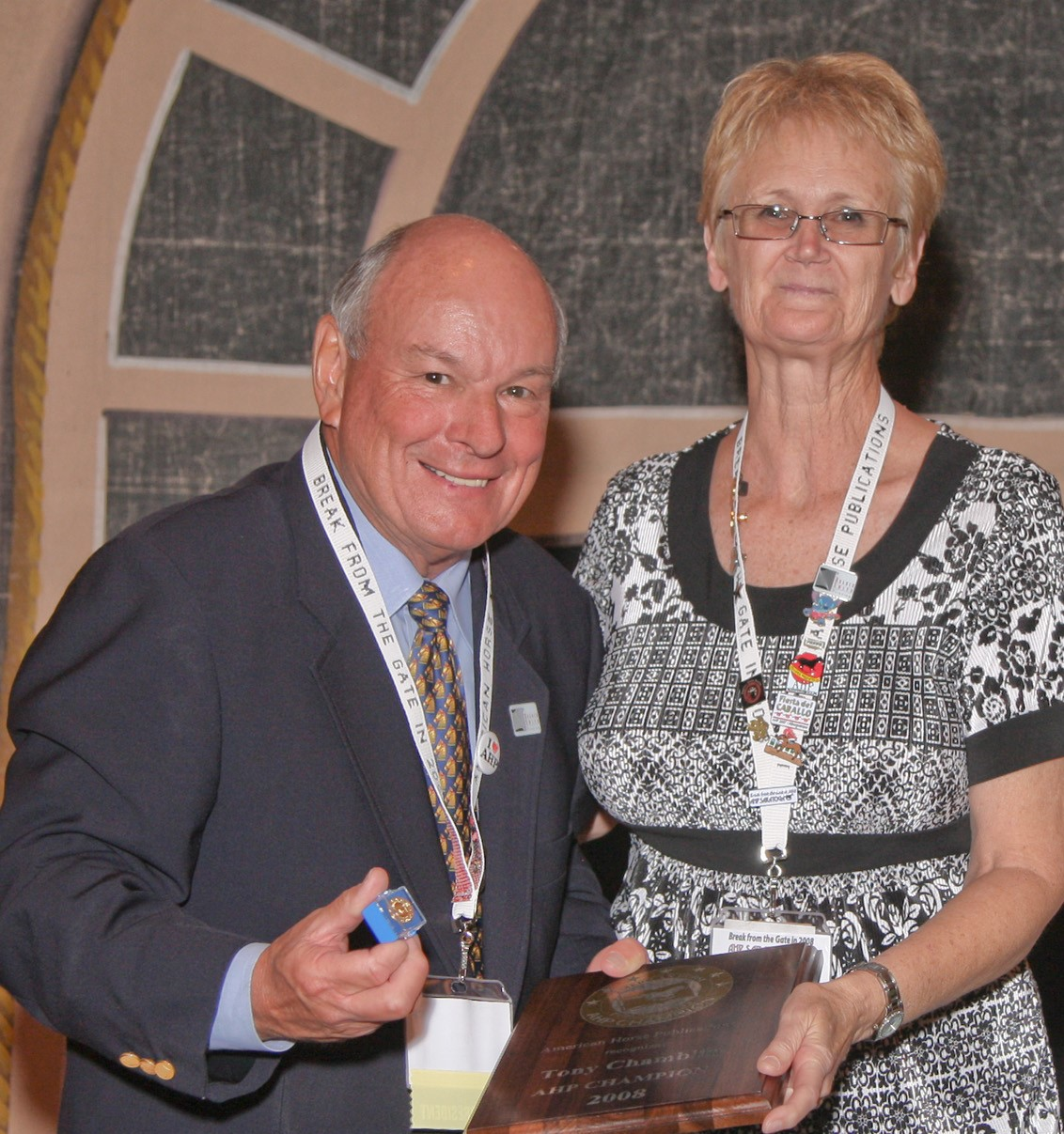 An Interview with Tony Chamblin, AHP Past President and former Executive Director